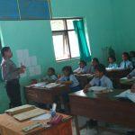 Anggota Bhabin Polsek Ngantang Polres Batu Melaksanakan Kegiatan Kunjungan Kepada Siswa SDN 01 Mulyorejo