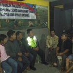 Agar Wilayah Kondusif, Anggota Polsek Batu Polres Batu Giatkan Patroli Tatap Muka Bersama Toga Tomas