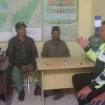 Patroli Sosialisasi, Anggota Polsek Bumiaji Antisipasi 3C Berikan Situasi Aman Kondusif