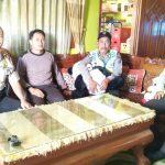 Giat patroli dan binluh yang dilaksanakan oleh Kapolsek Ngantang bersama anggota  Ke Tomas Desa Sidodadi