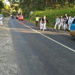 Anggota Polsek Ngantang Polres Batu Giatkan Poros Pagi Memberikan Pelayanan Prima Pada Pagi Hari