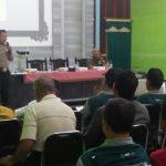 Anggota Bhabin Polsek Batu Polres Batu Pengendalian Keamanan Lingkungan