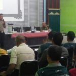 Sosialisasi Keamanan Wilayah, Anggota Bhabin Polsek Batu Polres Batu Giatkan Tatap Muka