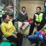 Anggota Bhabin Polsek Batu Polres Batu Giatkan Patroli Tatap Muka