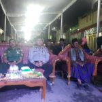 Kelancaran Acara, Patroli Bhabin Polsek Junrejo Polres Batu, Hadiri Kegiatan Yang Di Selenggarakan Oleh Warganya