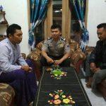 Bhabinkamtibmas Desa Pendem Polsek Junrejo Polres Batu Sambang Tokoh Agar Keamanan Tetap Kondusif