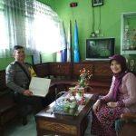 Antisipasi 3C, Anggota Bhabin Polsek Junrejo Polres Batu Patroli Keamanan Sekolah Di Hari Libur