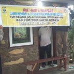 Binmas Polsek Batu Polres Batu Pasang Banner Himbauan HarkamtibmasDalam Waspadai Curanmor