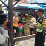 Binmas Polsek Batu Kota Polres Batu Giat Pertemuan Polisi dengan Masyarakat