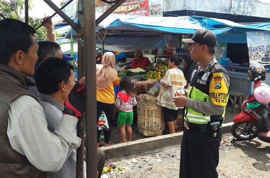 Binmas Polsek Batu Kota Polres Batu Giatan Pertemuan Polisi dengan Para Masyarakat