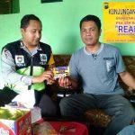 Menjaga Keamanan Wilayah Binaanya, Anggota Satbinmas Polsek Batu Polres Batu Giatkan Sambang Kunjungan Kamtibmas