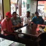 Anggota Polsek Batu Polres Batu Giatkan Pam Swakarsa Bersama Anggota Satpam Binaan Juga Jalin Silaturrahmi