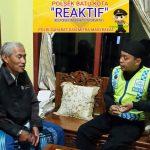 Anggota Bhabinkamtibmas Temas Polsek Batu Kota Polres Batu Kunjungan Mitra Bersama Masyarakat Dan  Sampaikan Harkamtibmas