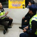 Giat Patroli, Anggota Polsek Batu Polres Batu Giatkan Kunjungan Kemitraan Dengan Anggota Satpam Binaan
