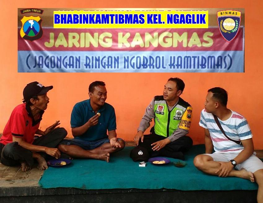Binmas Polsek Batu Kota Polres Batu Melaksanakan Kunjungan Kemitraan dengan Mengajak Warga Dialogis Bersama