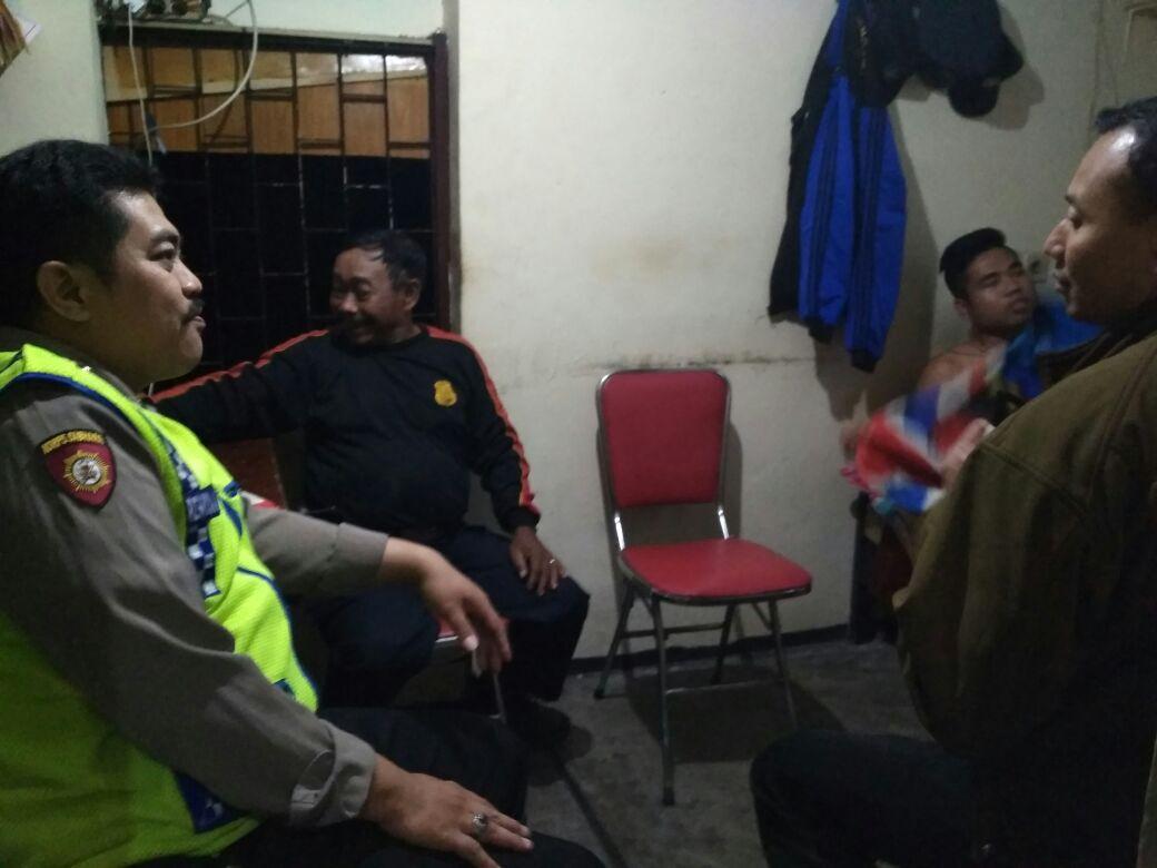 Polsek Junrejo Polres Batu Melaksanakan Patroli Dialogis Antisipasi Rawan Curanmor