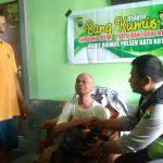 Patroli Kemanusiaan, Kanit Binmas Polsek Batu Kota Polres Batu Sambang Yayasan Yatim Piatu dan Fakir Miskin
