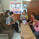 Kunjungan Anggota Binmas Polsek Batu Kota Polres Batu ke SMP PGRI 01 BATU