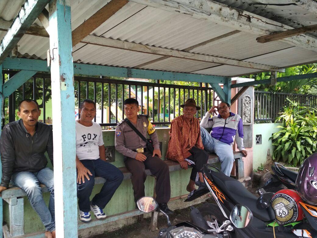 Binmas Polsek Junrejo Polres Batu Mengadakan binluh pada tukang ojek konvensional