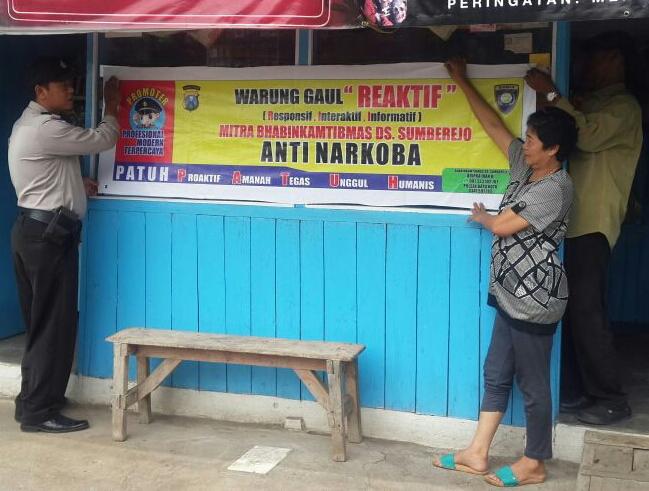 Warung Gaul Anti Narkoba Mitra Binmas Polsek Batu Kota Polres Batu