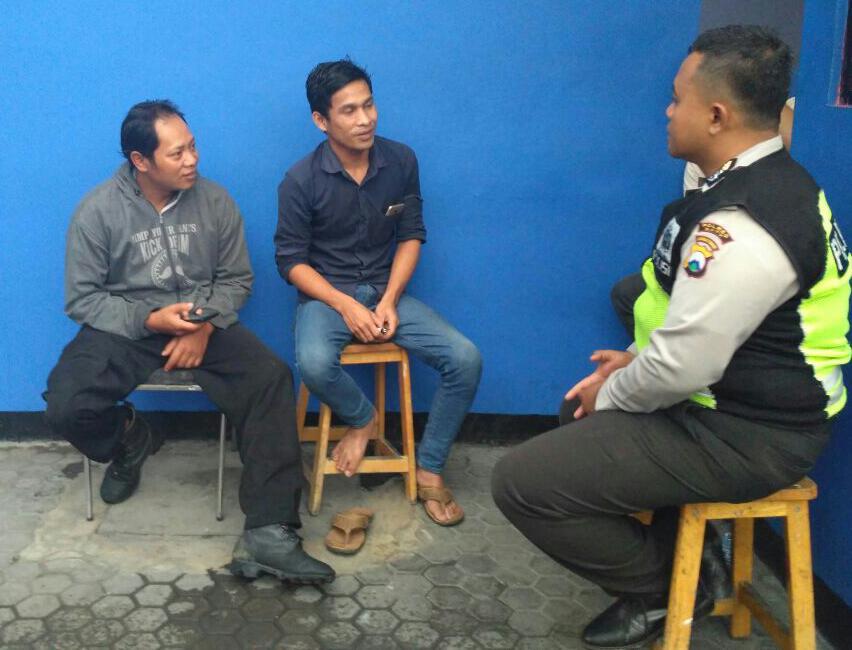 Wajib Kunjungan Para Pemuda Binmas Polsek Batu Kota Polres Batu