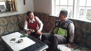 Kanit Binmas Polsek Batu Polres Batu Giatkan Program Kunjung 1000 Tokoh Desa