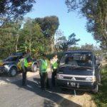 Tingkatkan Keamanan, Anggota Polsek Ngantang Polres Batu Melaksanakan Cipta Kondisi