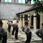 Anggota Polsek Ngantang Polres Batu Apel Pagi