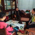 Anggota Bhabin Polsek Batu Kota Polres Batu Melaksanakan Sambang Sekolah Binaan