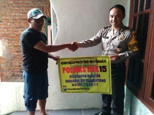 Langkah Preemtif Polri, Anggota Polsek Batu Polres Batu Menjalin Kemitraan Bersama Masyarakat