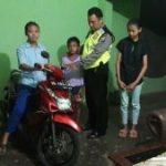 Anggota Bhabinkamtibmas Polsek Ngantang Polres Batu Peduli Dengan Anak Yatim