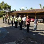 Dipimpin Kapolsek Pujon Anggota Polsek Pujon Polres Batu Lakukan Apel Guna Antisipasi Weekend
