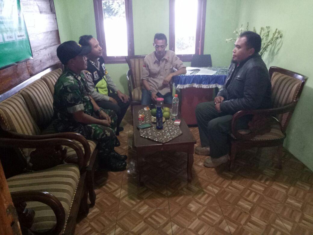 Polsek Batu Polres Batu Bersama Bhabinsa Sampaikan Wilayah Aman