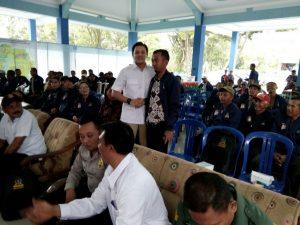 Anggota Polsek Ngantang Polres Batu Giatkan Pengamanan Kunjungan Kerja Dan Sosialisasi Pancasila