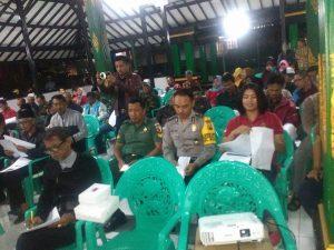 Anggota Bhabinkamtibmas Polsek Batu Polres Batu Mengikuti Kadarkum( Keluarga Sadar hukum ) Di Wilayah Hukum Polsek Batu