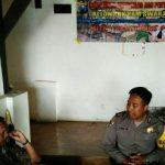 Upayakan dan Bangun Preventif di Wilayah, Bhabin Polsek Batu Polres Batu Menjaga Keamanan Bersama Kelompok Pam Swakarsa