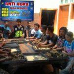 Bhabinkamtibmas Desa Pesanggrahan Polsek Batu Kota Ajak Para Pemuda Bijak Gunakan Medsos Guna Antisipasi Berita Hoax