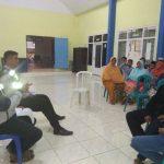 Bhabinkamtibmas Polsek Pujon Polres Batu Bersama Kasun Melaksanakan Pembinaan Ke Pemuda