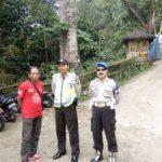 Kanit Provos Bersama Anggota Polsek Kasembon Polres Batu Laksanakan Giat Patroli Wisata Guna Berikan Rasa Aman