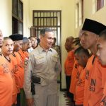 Tingkatkan Keamanan Mako, Pawas Lakukan Polres Batu Kontrol Tahanan