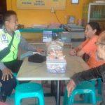 Kunjung Kemitraan Oleh Anggota Polsek Batu Polres Batu Sampaikan Himbauan Dan Pesan Kamtibmas Tempat Usaha