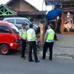 Polsek Junrejo Polres Batu Melaksanakan Pengamanan ibadah kebaktian Minggu