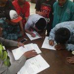 Anggota Bhabin Polsek Pujon Polres Batu Bersama Kasun Melakukan Pembinaan Ke Pemuda