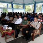 Menjalin Sinergitas Dengan Warga, Anggota Polsek Ngantang Polres Batu Amankan Kunjungan Kerja Anggota DPR