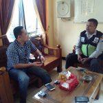 Jalin Kerjasama Dengan Masyarakat Wilayahnya, Anggota Kanit Binmas Polsek Batu Kota Gelar Tatap Muka Bersama