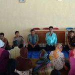 Polsek Junrejo Polres Batu Lakukan Silaturrahmi dan Pengamanan Kegiatan Pembagian Sembako