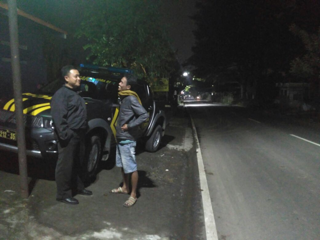 Patroli Wilayah Aman, Anggota unit Patroli Polres Batu Polres Batu Giatkan Patroli Keamanan Wilayah