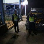 Polsek Pujon Polres Batu Kegiatan Patroli Ciptakan Situasi Kondusif