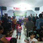 Polsek Kasembon Polres Batu Melaksanakan Pengamanan Giat Ibadah Natal