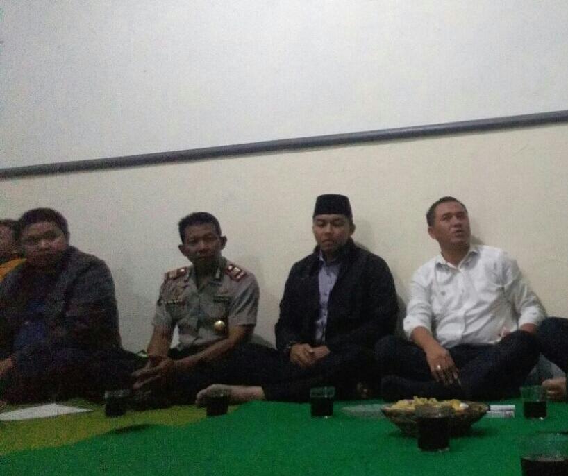 Kapolsek Batu Bersama Anggota Polres Batu Menghadiri Giat Silaturohmi Bersama Pengurus Paguyuban Villa Songgoriti